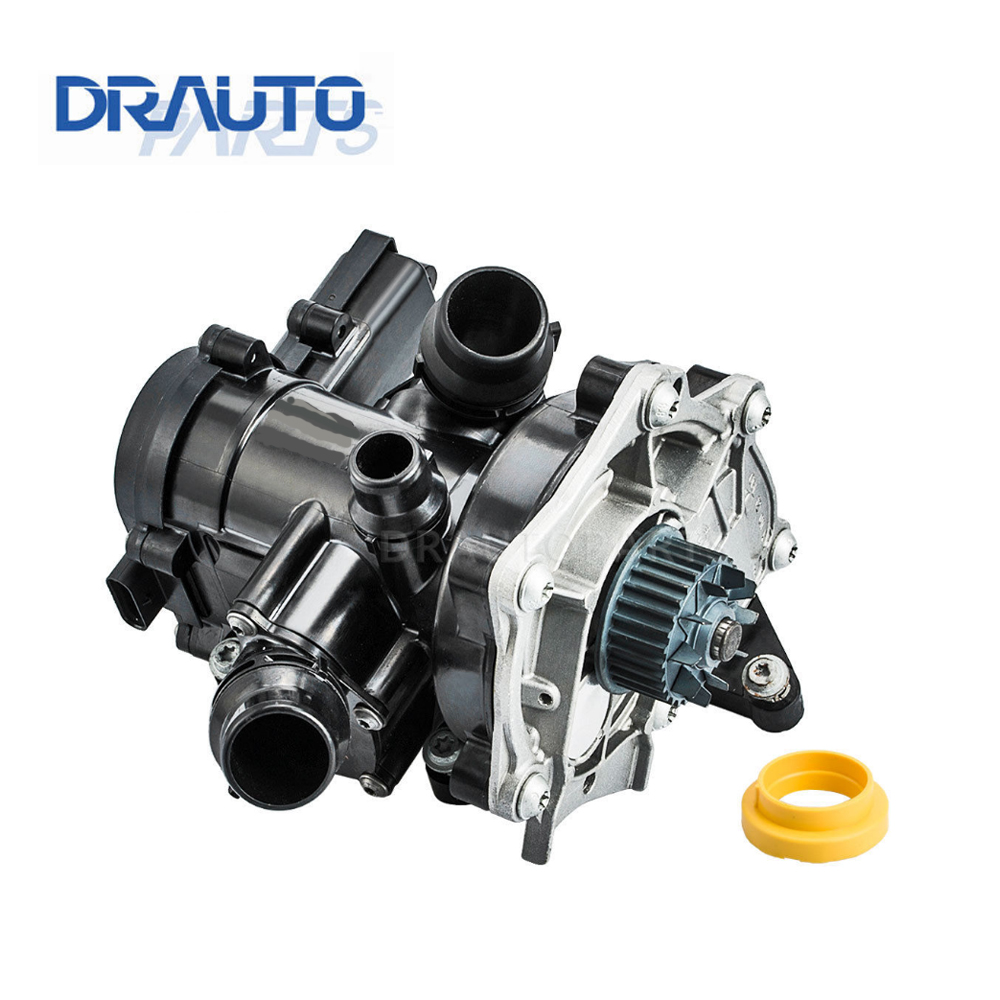 medium resolution of electronic water pump thermostat housing assembly 06l121111g 06k121011b for vw golf audi a3 a4 tt