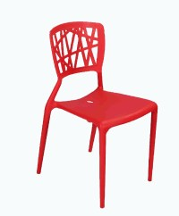 Armless Yellow Plastic Dining Chair - Buy Dining Chair ...