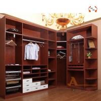Modern Bedroom Furniture Corner Wardrobe With Sliding Door ...
