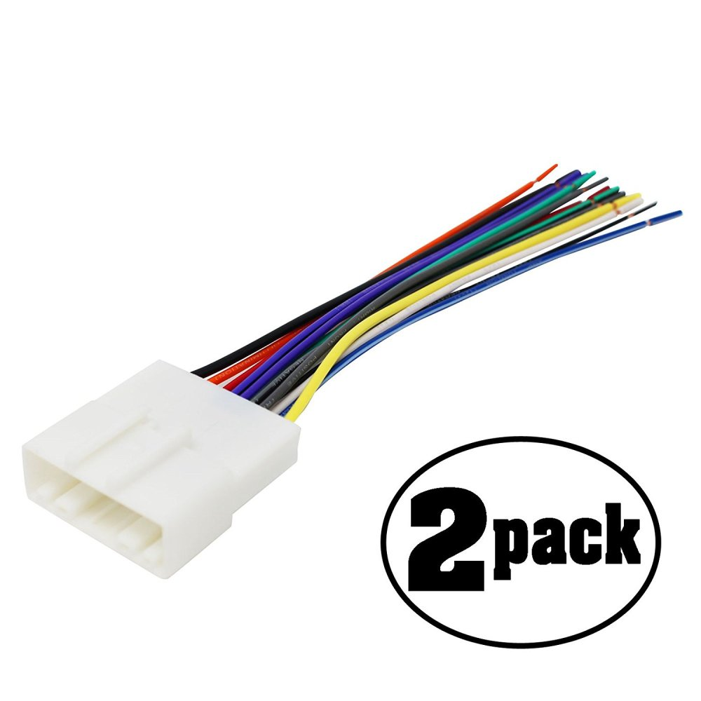medium resolution of get quotations 2 pack replacement radio wiring harness for 2012 nissan sentra se r sedan 4