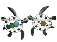 Cute Metal Turtle Decoration Metal Wall Art