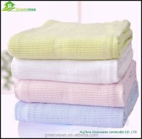 Bamboo Organic Cotton Baby Blanket,High Quality White ...