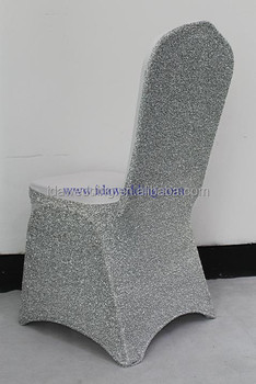 black glitter chair covers keter lounge chairs elastic sequin cover high quality spandex universal size