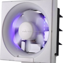 Types Of Kitchen Exhaust Fans Vent Cover 12 Inch Wall Mounted Fan Led Full Plastic Type With Shutter