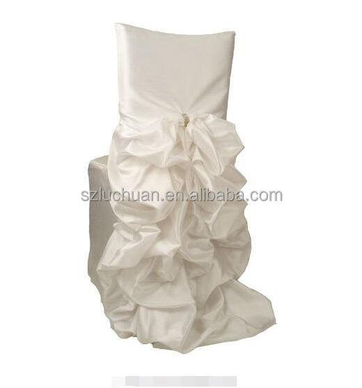 fancy chair covers inflatable chairs white decoration for plastic weddings