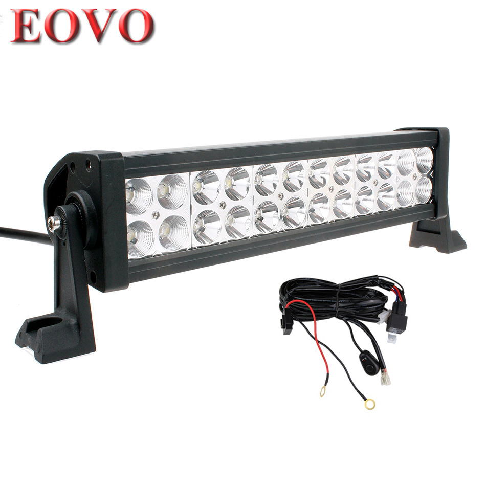 truck lite led wiring diagram ford 9n lights great installation of 12 inch 72w light bar switch kit for off road hing