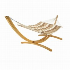 Hammock Chair Stand Adjustable Steel Size Hot Sale Wooden Double With Wood Outdoor