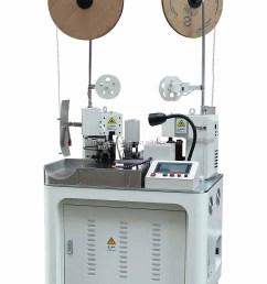 automatic wire harness cutting crimping machine terminal applicator [ 1000 x 1471 Pixel ]