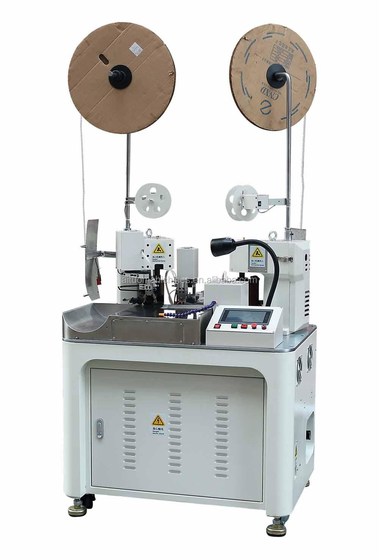 medium resolution of automatic wire harness cutting crimping machine terminal applicator