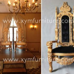 Kings Chair For Sale Victorian Style Covers Hot Canada Wedding Party King Throne Buy