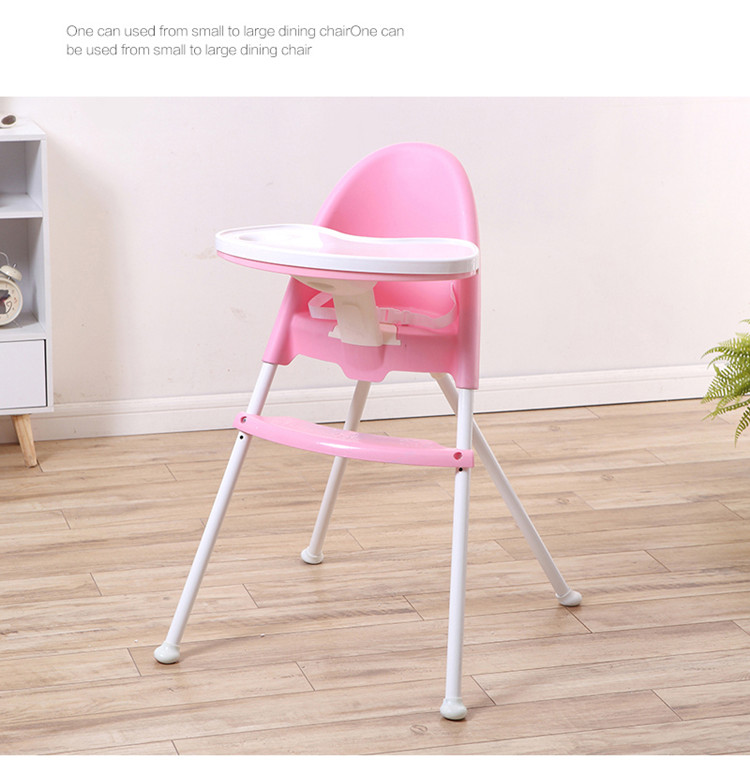 adult baby high chair leather captains 2018 portable feeding 3 in 1 folding chairs with safety belt