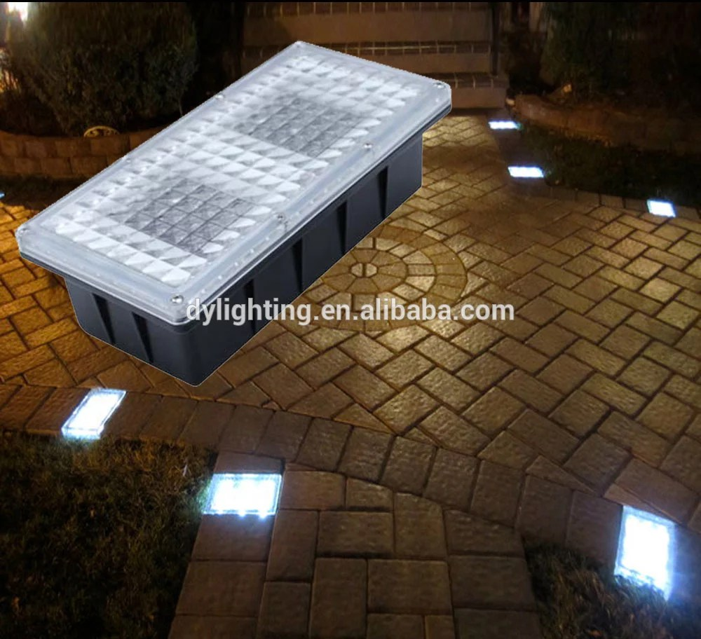 12v led hardscape light solar powered path brick paver light for outdoor solar led brick light for landscape lighting buy brick paver light solar