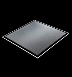 transparent acrylic pmma dotted led light guide panel for glass display shelf [ 1000 x 1000 Pixel ]