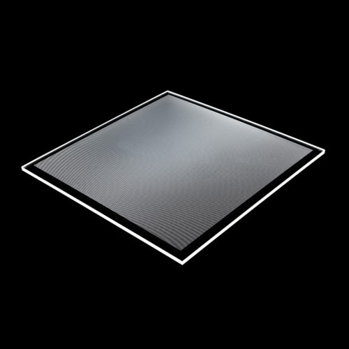 small resolution of transparent acrylic pmma dotted led light guide panel for glass display shelf