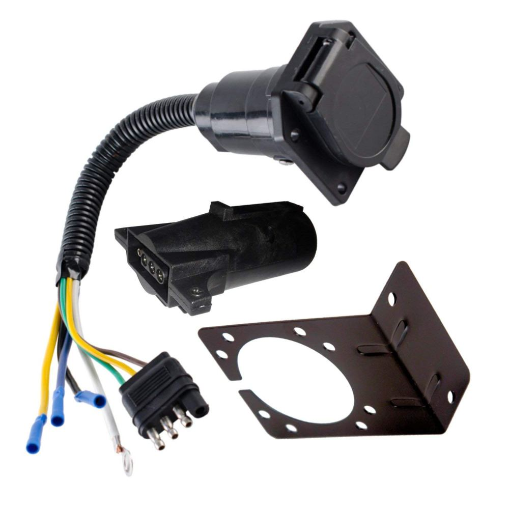medium resolution of trailer wiring harness adapter wiring library anderson v5414 boat trailer wiring harness adapter 7 to 4 way ebay