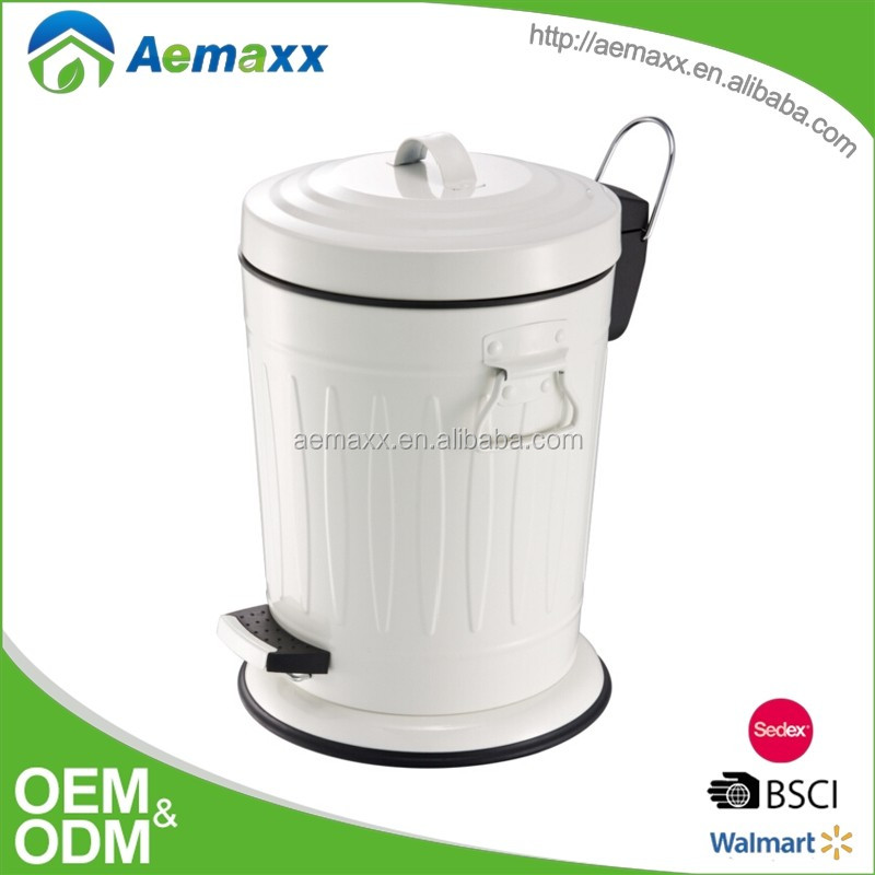 kitchen composter stainless steel doors for outdoor 压花设计厨房堆肥垃圾桶 buy 厨房垃圾桶 装饰踏板垃圾桶