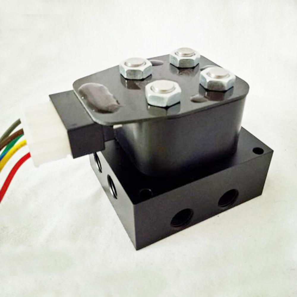 medium resolution of solenoid valve manifold unit with wiring harness for air suspension control