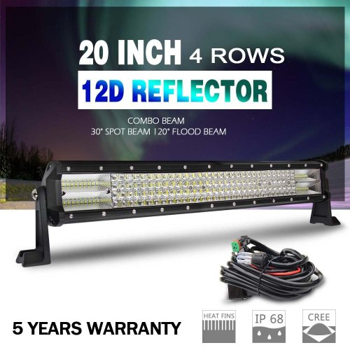 small resolution of get quotations the new led light bar 12d cree 20 wiring harness super bright