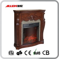 Indoor Used Fireplace Wood Mantel Electric Fireplace - Buy ...