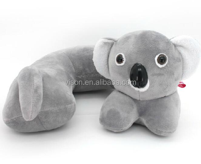 Cute Neck Pillow Animal Shape Travel Neck Pillow Baby Body
