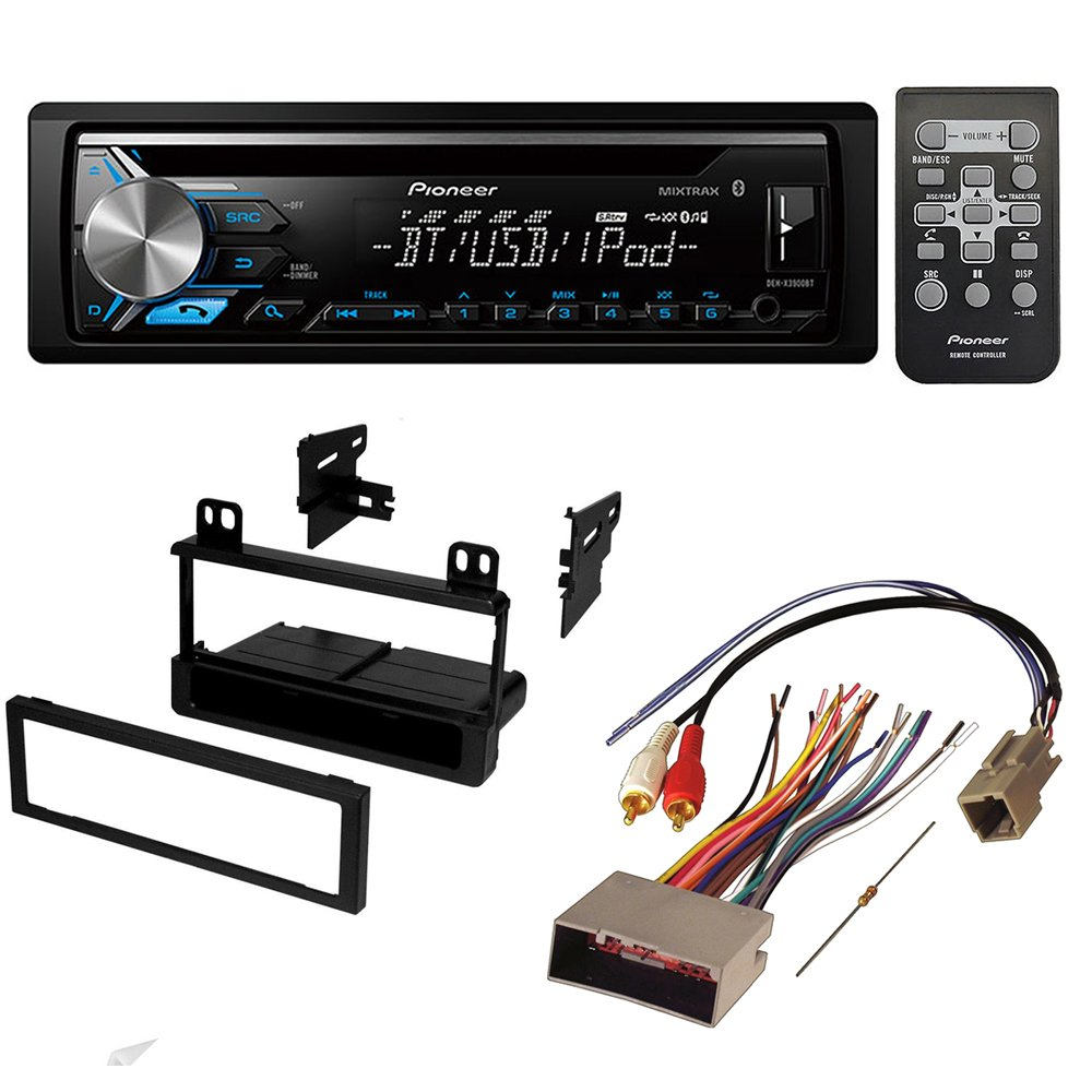 hight resolution of get quotations aftermarket car stereo receiver radio kit dash installation mounting trim bezel with wiring harness for select