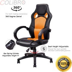 Racing Seat Office Chair Diy Japanese Chairs For Sale Cheap Gaming Find Deals On Line At Alibaba Com Get Quotations Colibrox High Back Bucket Desk Swivel Executive New