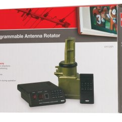 Antenna Rotor Wiring Diagram Tv Rotator Remote Hunter Fans Channel Master 9521a Electronics Cheap For Sale Find Deals