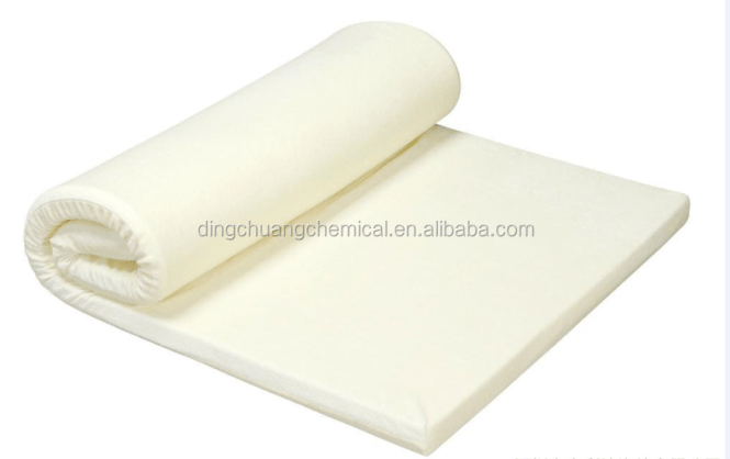 Memory Foam Rolled Thin Compressed Mattress