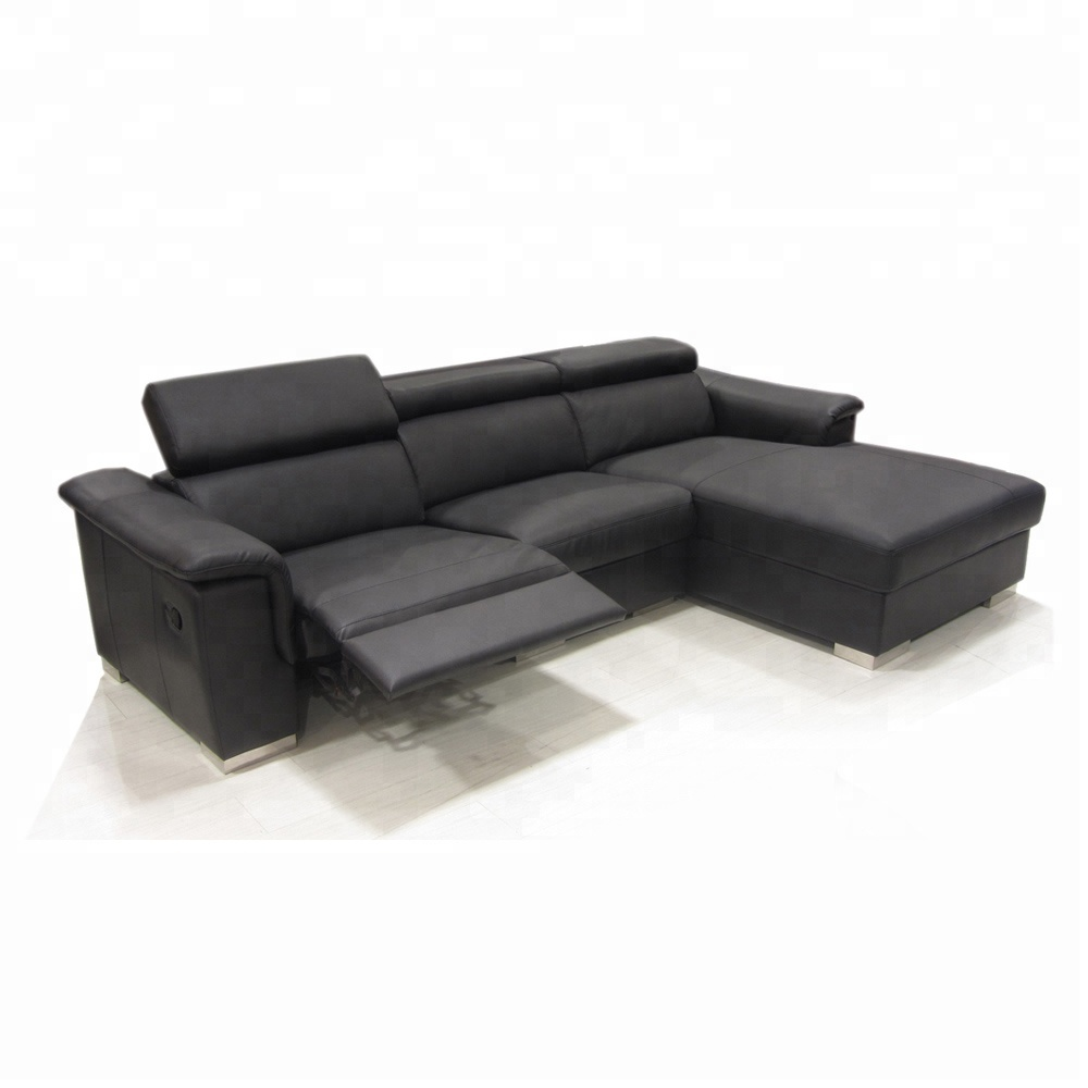 modern sofa l shape distressed leather sectional new shaped designs genuine recliner set lounge suite g49
