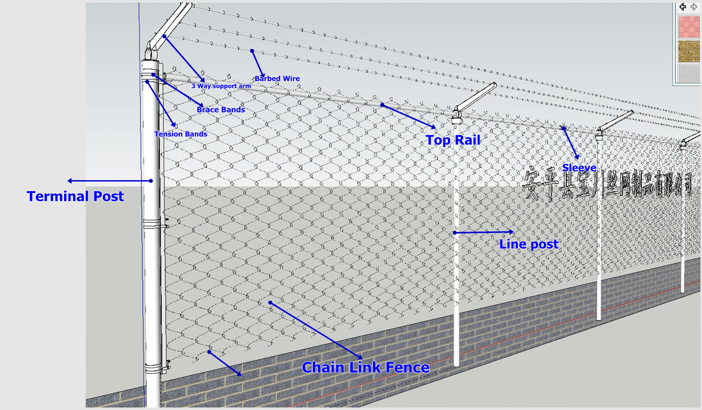 hight resolution of hot sale chain link fence made in china chain link fence manufacture