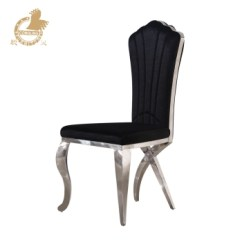 Dining Chairs With Stainless Steel Legs Navy Velvet Black Chair Buy