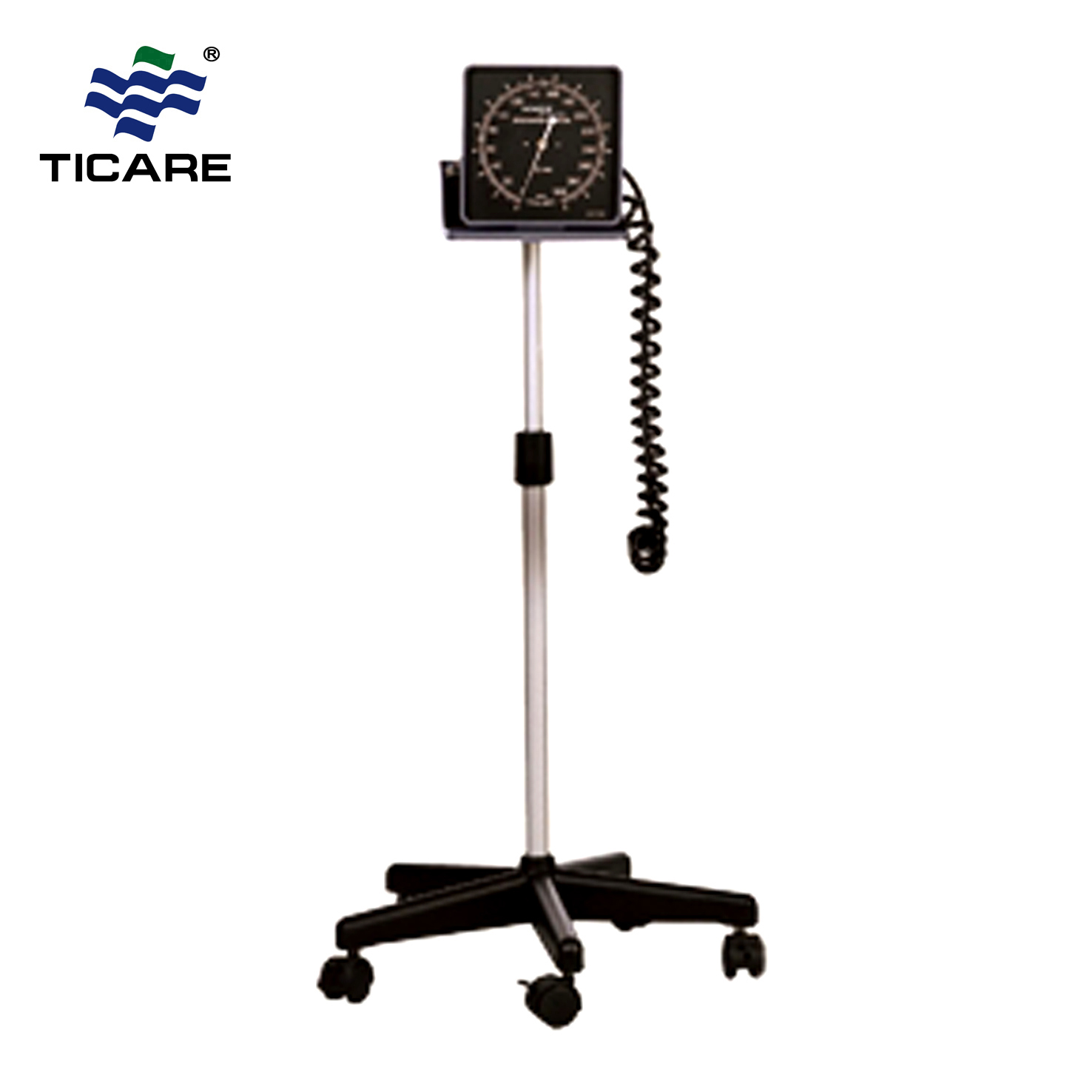 Stand Type Aneroid Blood Pressure Monitor With Square