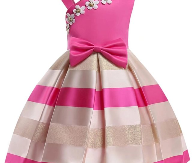Get Quotations  C B Oukaiyi Girls Dress Party Wedding Porm Flower Casual Tutu Dresses