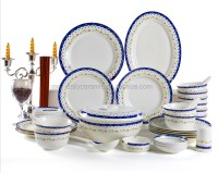 White Porcelain Dinnerware Set,Used Restaurant Dinnerware