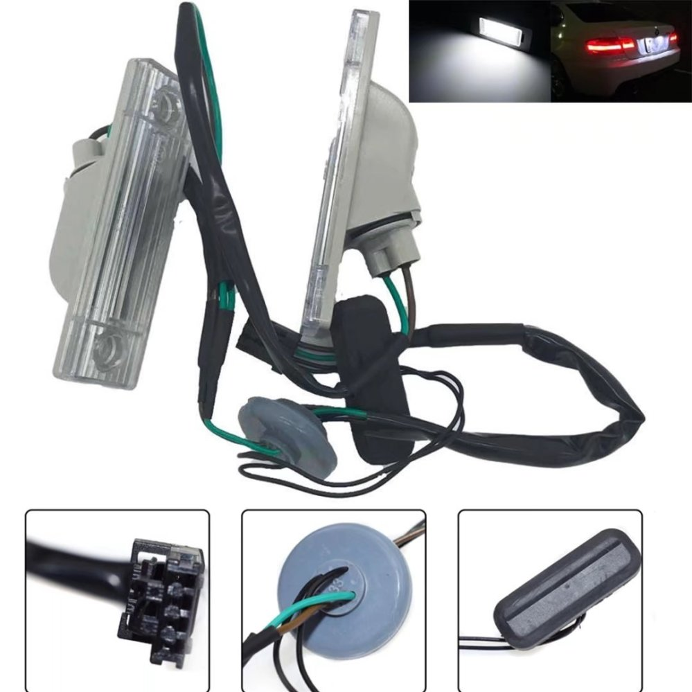 medium resolution of get quotations paddsun 2x license plate light for chevrolet for cruze car rear license plate lamp trunk switch