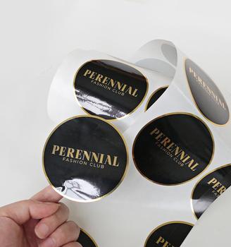 custom brand logo black
