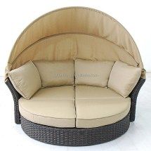 Terrace Day Bed Love Seat 2-in-1 Conversion Chair Couch