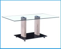 Modern Mdf Temper Glass Coffee Table - Buy Modern Mdf ...