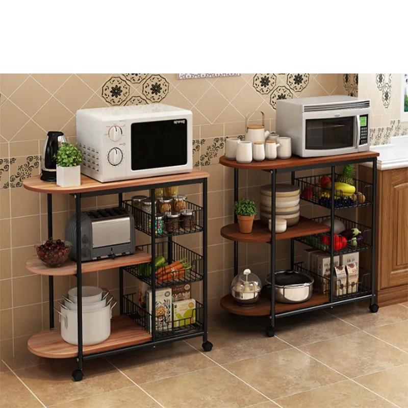 kitchen storage holders metal wood microwave oven shelf stand kitchen appliances storage rack cabinet buy kitchen storage holder storage rack metal