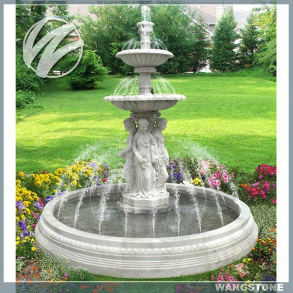 Water Fountain Modern Sculpture