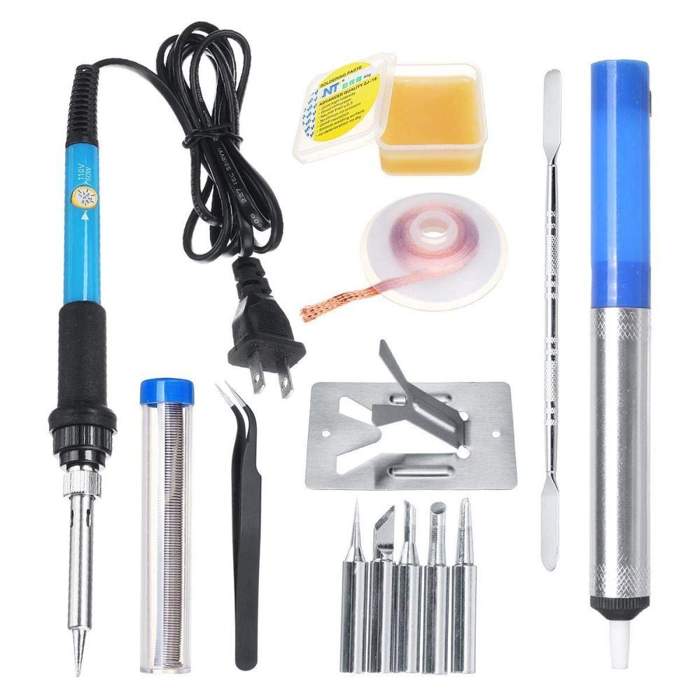 medium resolution of utini 110 220v 10 in 1 electric soldering iron welding tool kit solder wire tweezers