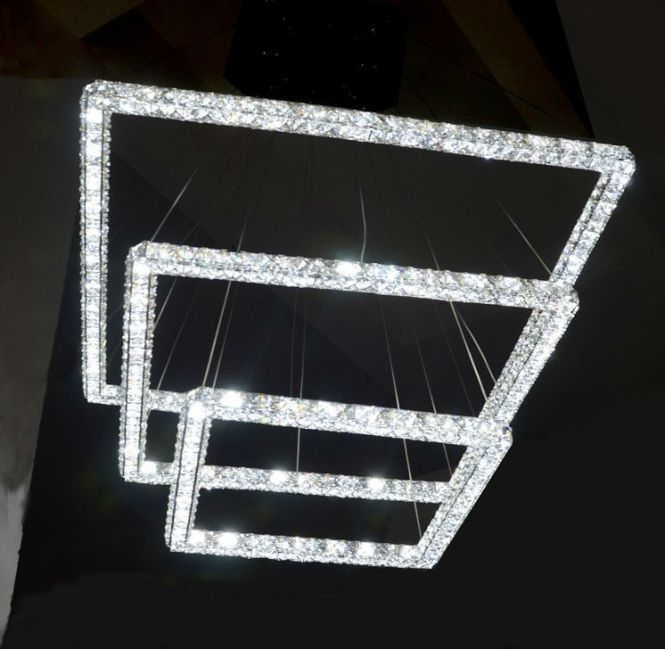 Modern Led Crystal Chandelier Product On Alibaba