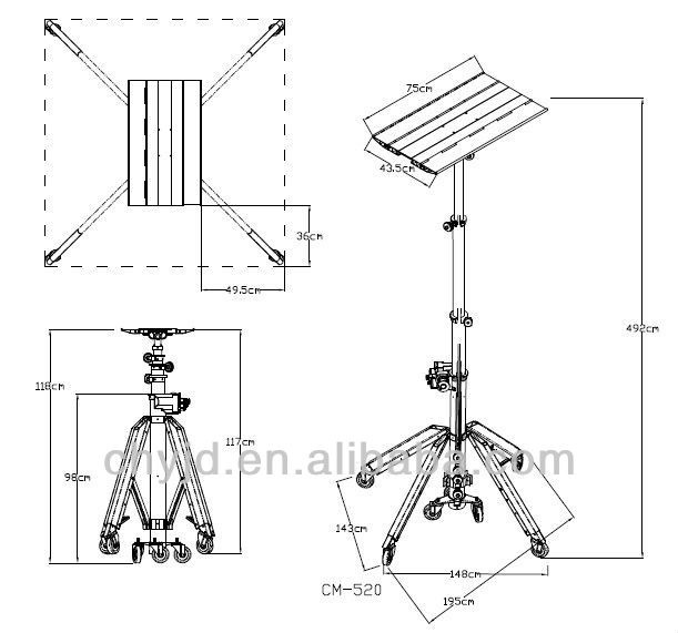 Most Compact Type Telescopic Portable Lifter In The World