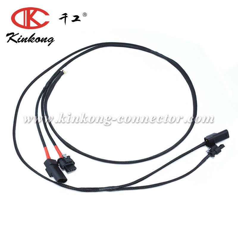 Automotive Wire Harness Cable Assembly With 8p Molex
