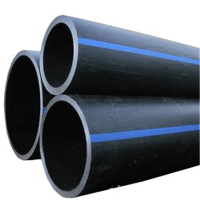 High Density Hdpe Poly 2 Inch Black Plastic Water Pipe ...