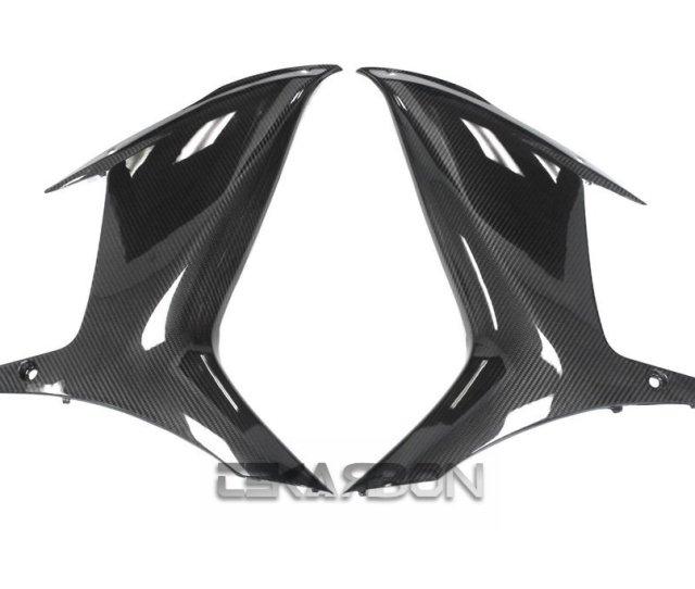 2011 2015 Suzuki Gsxr 600 750 Carbon Fiber Large Side Fairings Twill