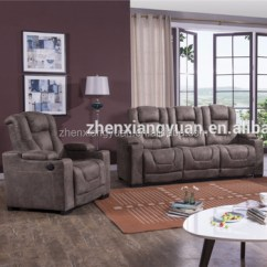 Theater Living Room Furniture Hanging Lights 2018 Home Reclining Air New Model Sofa Sets Pictures Set