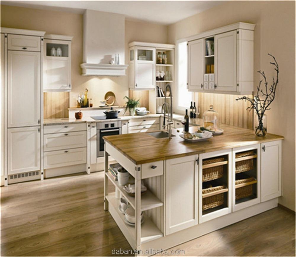 Cheap Melamine White Kitchen Cabinet Manufacturer In China