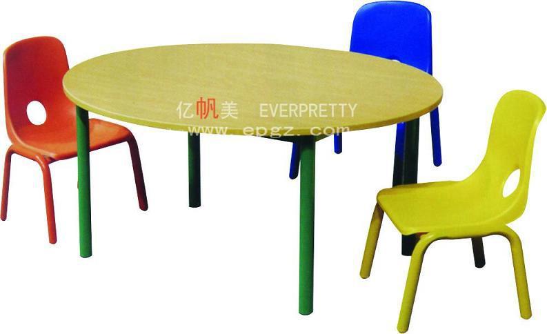 Pas cher Table ronde et chaise pour la maternelle Pas