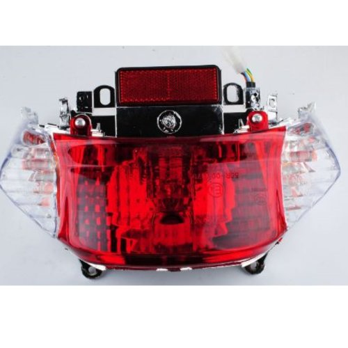 small resolution of gy6 50cc scooter tail light assembly chinese scooter parts tao tao peace sports